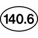 140.6 Sticker