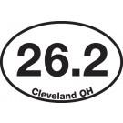 26.2 (Cleveland, OH) Sticker
