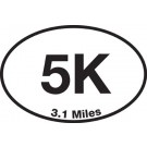 5K Sticker