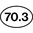 70.3 Sticker