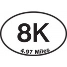 8K Sticker