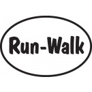 Run-Walk Sticker
