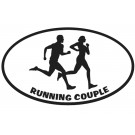 Running Couple Magnet