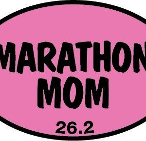 Marathon Mom Sticker-0