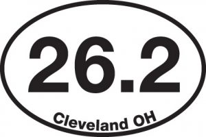 26.2 (Cleveland, OH) Sticker-0