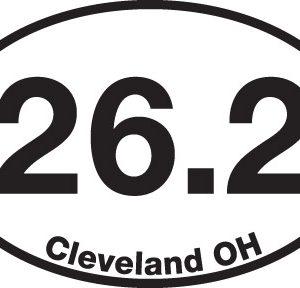 26.2 (Cleveland, OH) Sticker-0