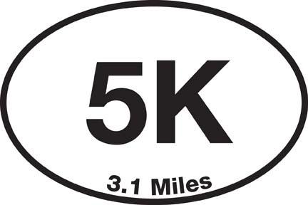 5K Sticker