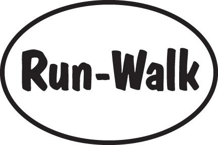 Run-Walk Sticker-0