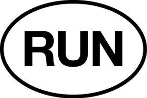 RUN Sticker-0