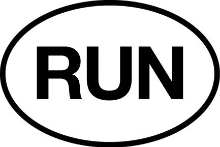 RUN Sticker-0