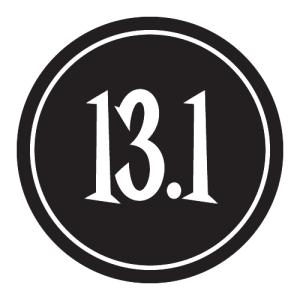 "13.1 Sticker – 2.5"" Circle (Black)-0"