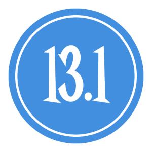 "13.1 Sticker – 2.5"" Circle (Blue)-0"