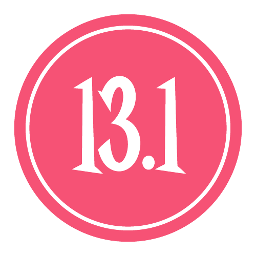 """13.1 Sticker – 2.5"""" Circle (Pink)-0"""