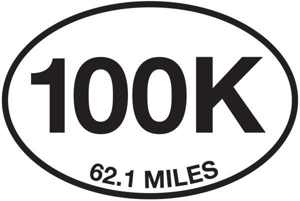100K – 62.1 Miles Sticker-0