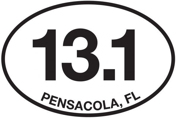 13.1 Pensacola, FL Sticker-0