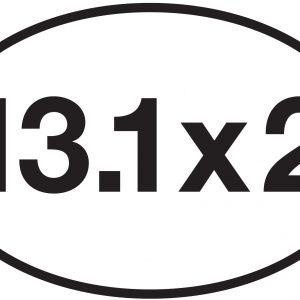 13.1 x 2 Sticker-0
