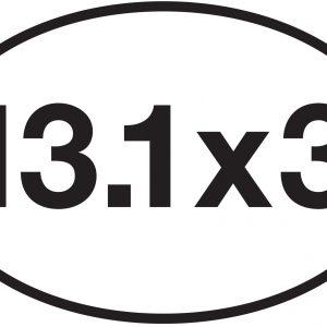 13.1 x 3 Sticker-0