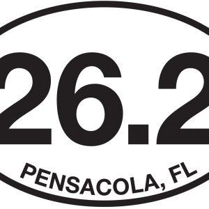 26.2 Pensacola, FL Sticker-0