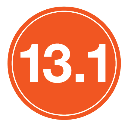 "13.1 Sticker – 4"" Circle (Orange)-0"