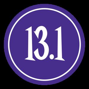 "13.1 Sticker – 2.5"" Circle (Violet)-830"