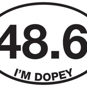 48.6 I'm Dopey Sticker-0