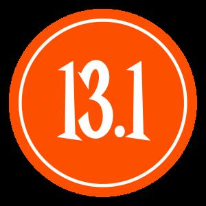 "13.1 Sticker – 2.5"" Circle (Orange)-0"