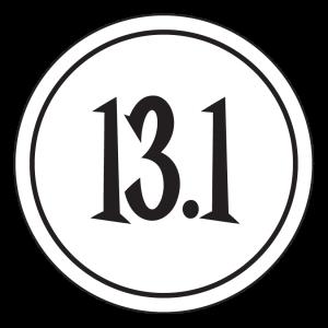 "13.1 Sticker – 2.5"" Circle (White)-0"