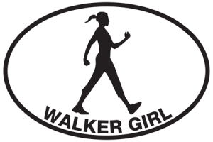 Walker Girl Sticker-0