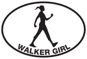 Walker Girl Sticker-0