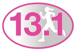 13.1 Pink Runner Girl Sticker-0