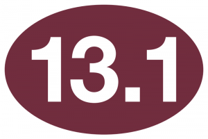 13.1 Maroon Sticker-0