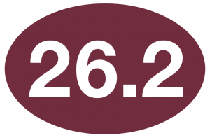 26.2 Maroon Sticker-0