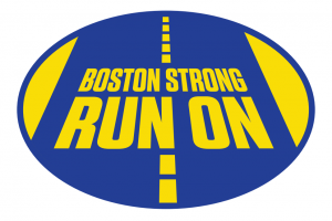 Boston Strong Run On Sticker-0