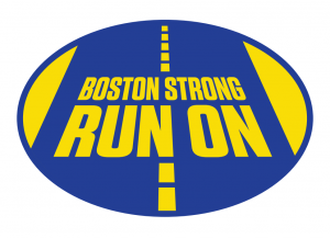 Boston Strong Run On Sticker-0