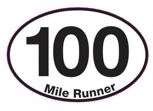 100 Mile Runner Magnet-0