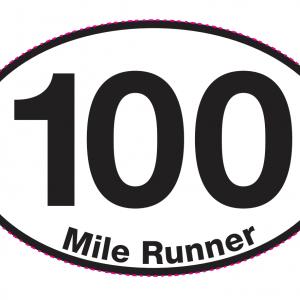 100 Mile Runner Magnet-0