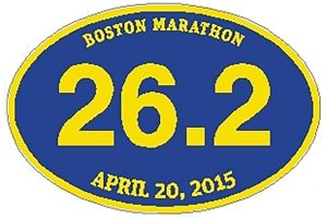 26.2 Boston Marathon 2015 (BLUE) -0