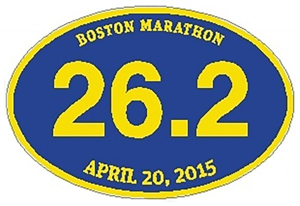 26.2 Boston Marathon 2015 (BLUE) -0